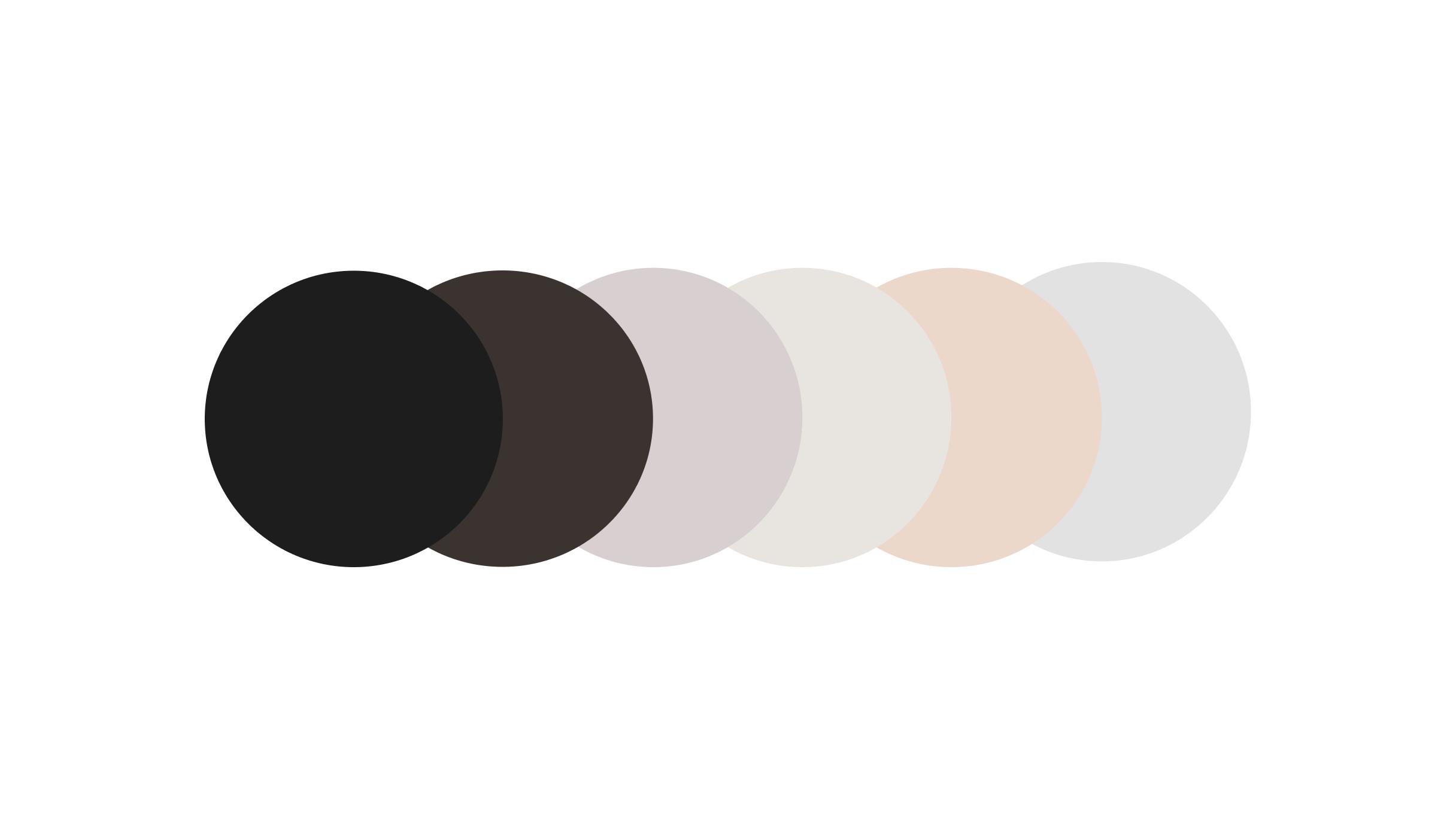 Henry & Paul colour palette