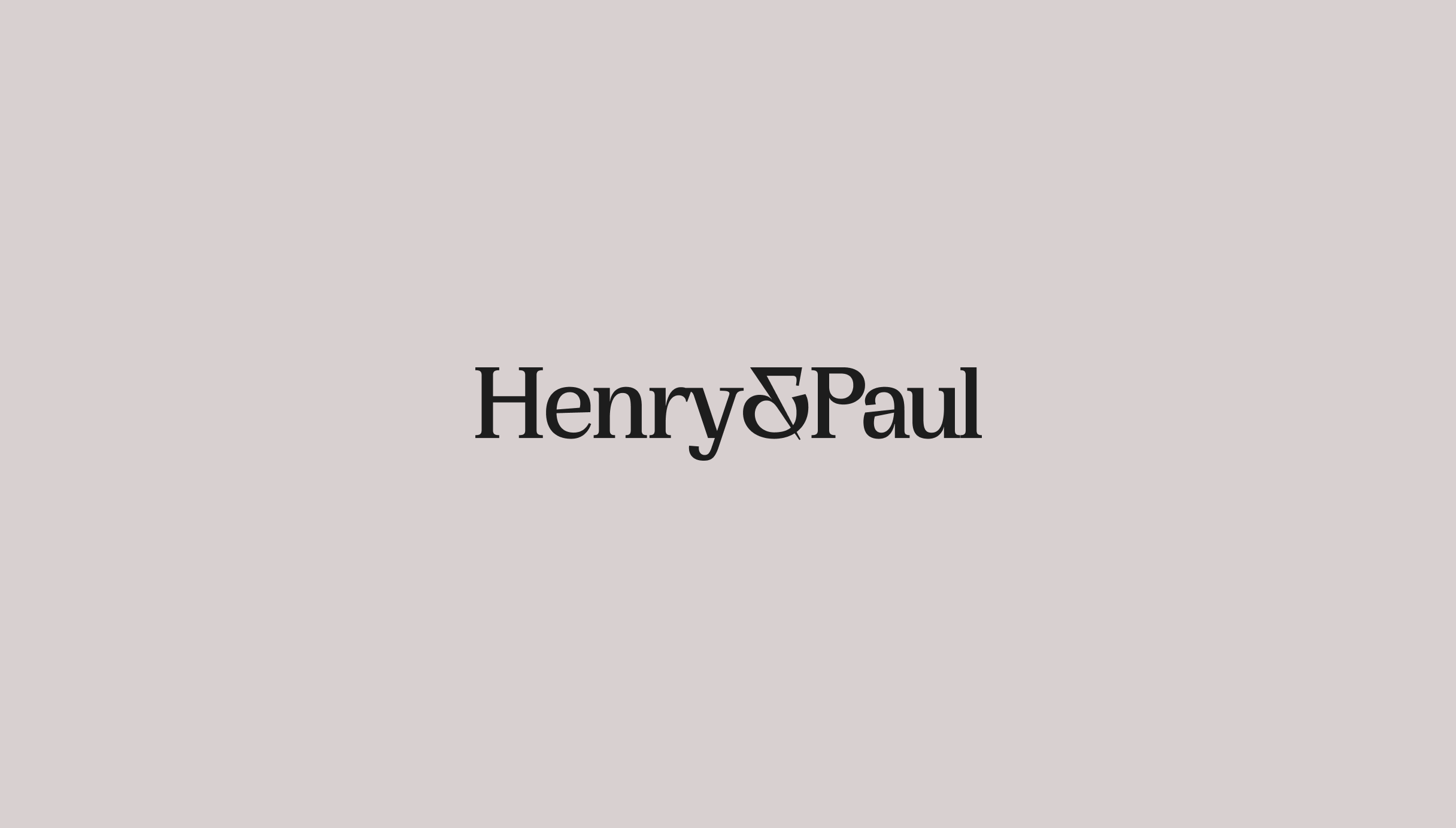 New Henry & Paul logo