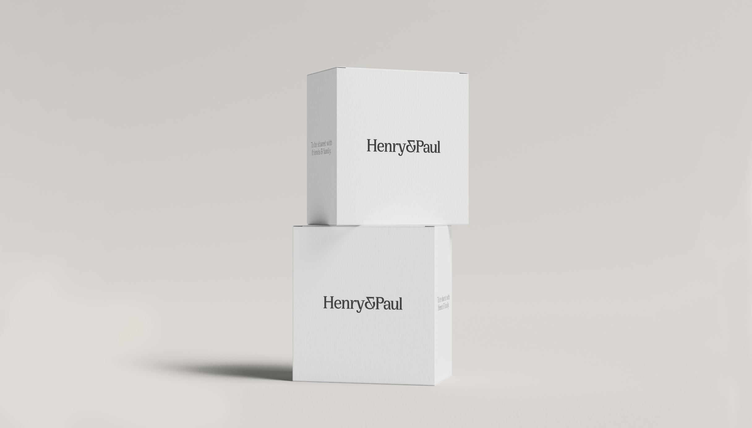 Henry & Paul new packaging