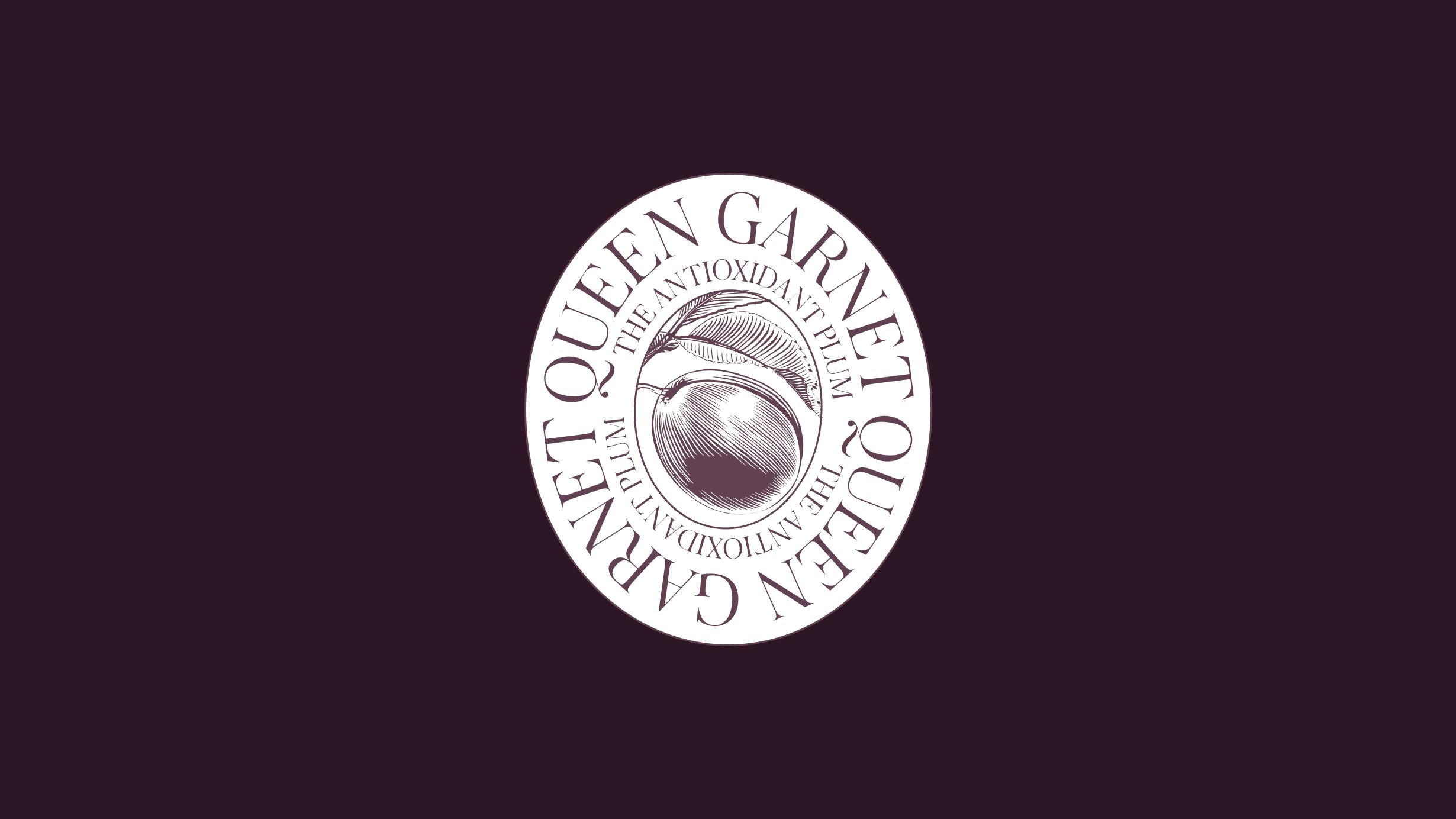 New Queen Garnet logo