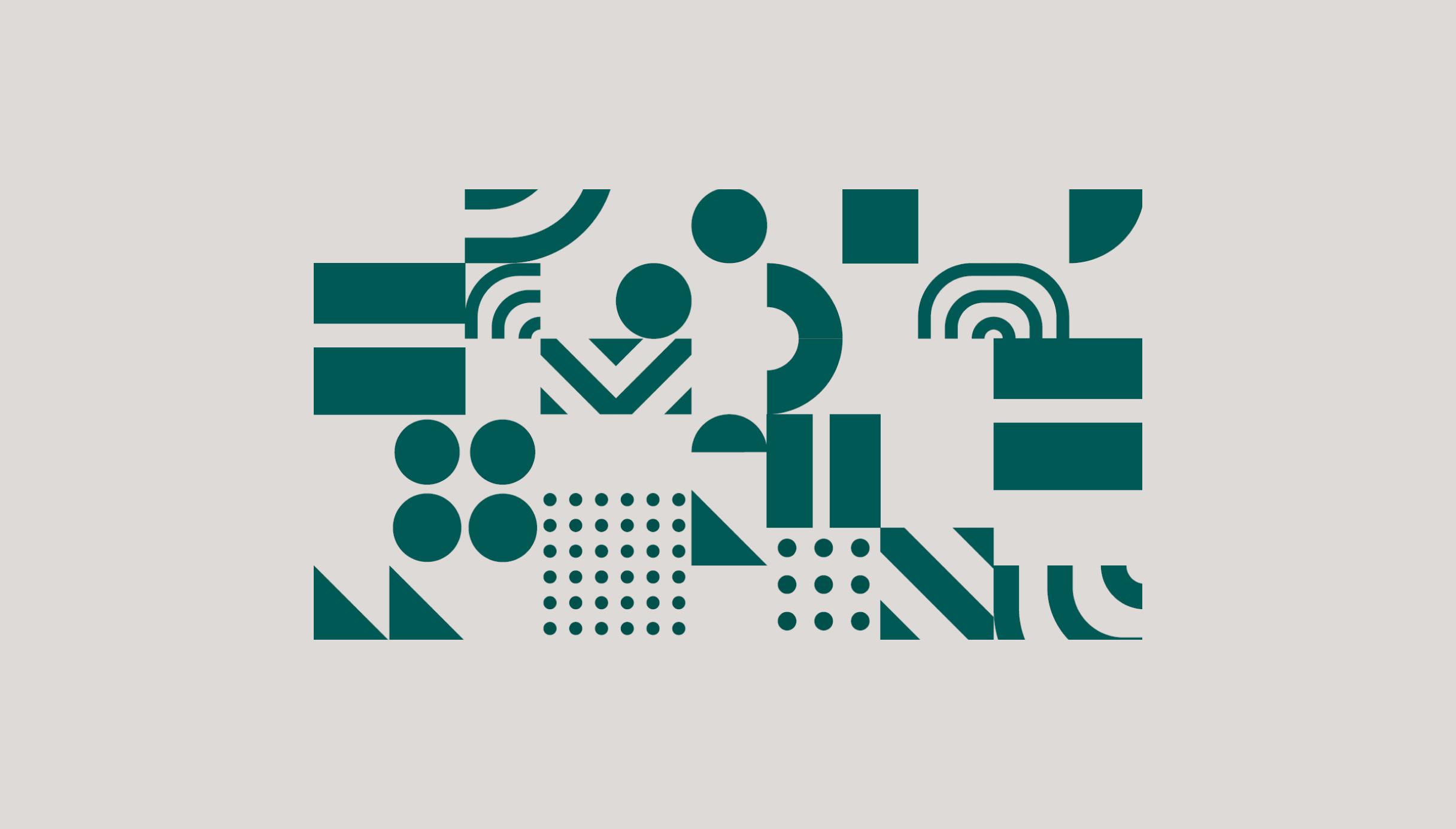 Ripe Planet brand geometric patterns