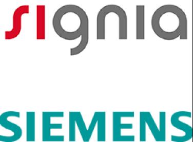Signia and Siemens logo