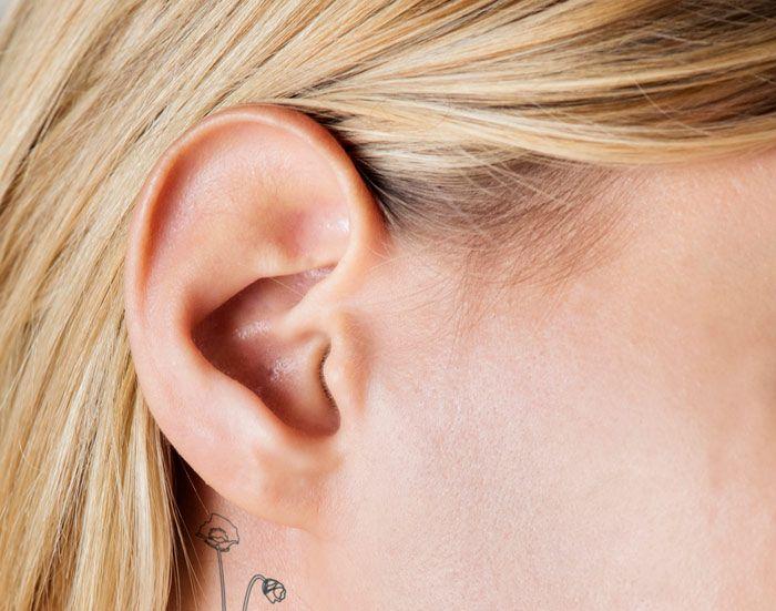 ear close-up