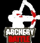 Логотип игры Лучного Боя, что изображает игрока, натягивающего лук