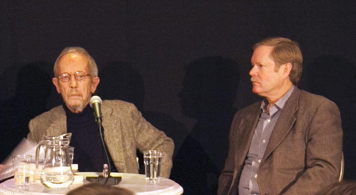Elmore en Peter Leonard