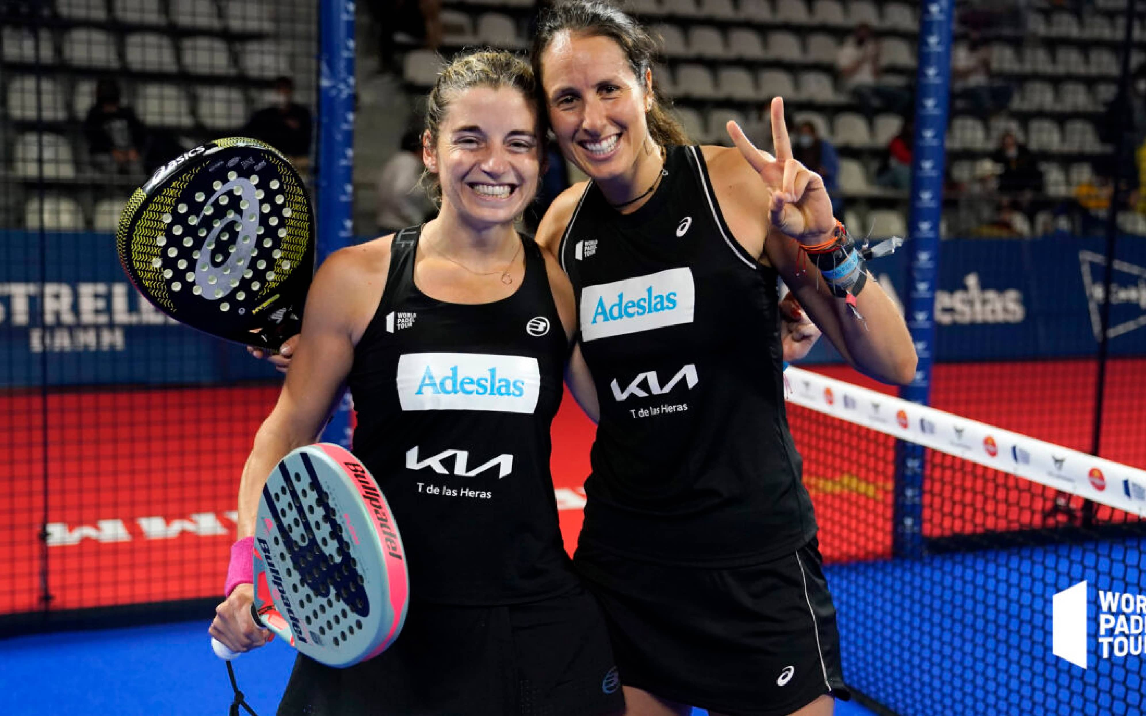 The best female couples of World Padel Tour 2021