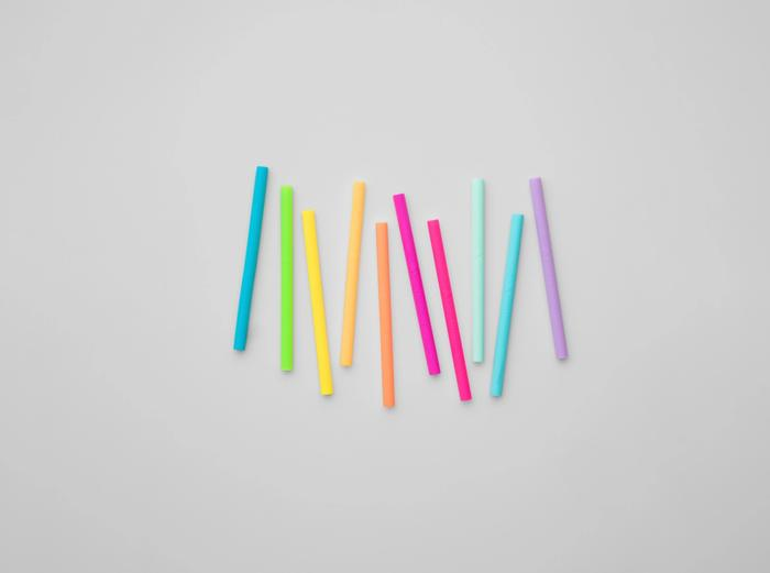 Image for Kids Straw - Rainbow / 10-Pack