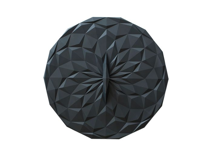Image for Round Suction Lid - Black / 12.5 Inch Round