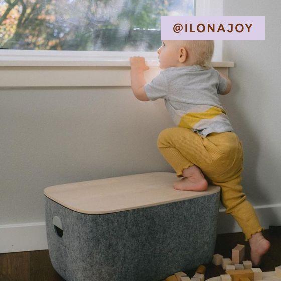 Image for UGC - @ilonajoy - Large Felt Bins