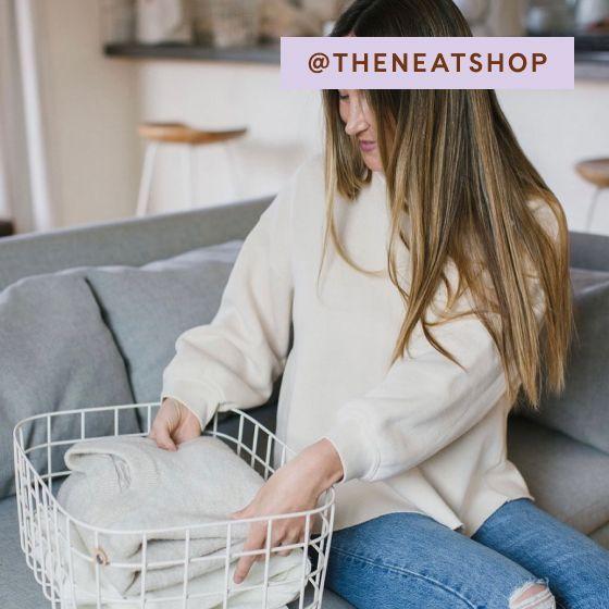 Image for UGC - @theneatshop - Wire Baskets - Cream