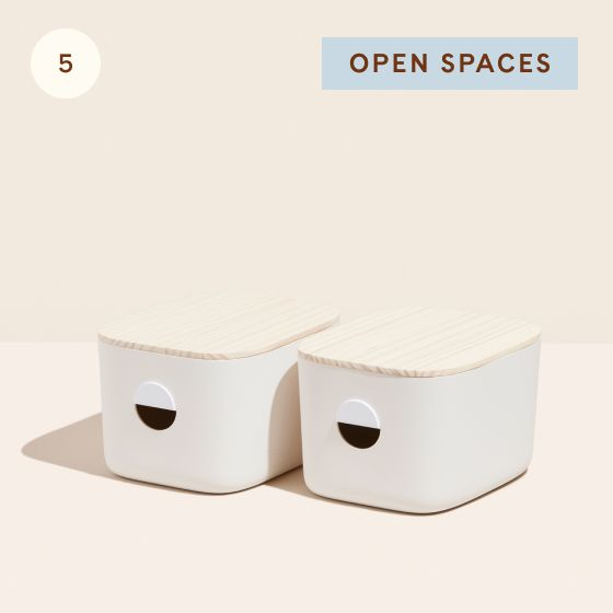 Image for Hotspot - Living Room - 05 - Open Spaces Medium Bins