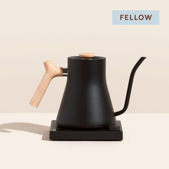 Image for [No Product Link] Product Thumbnail - Stagg Kettle - Black/Wood