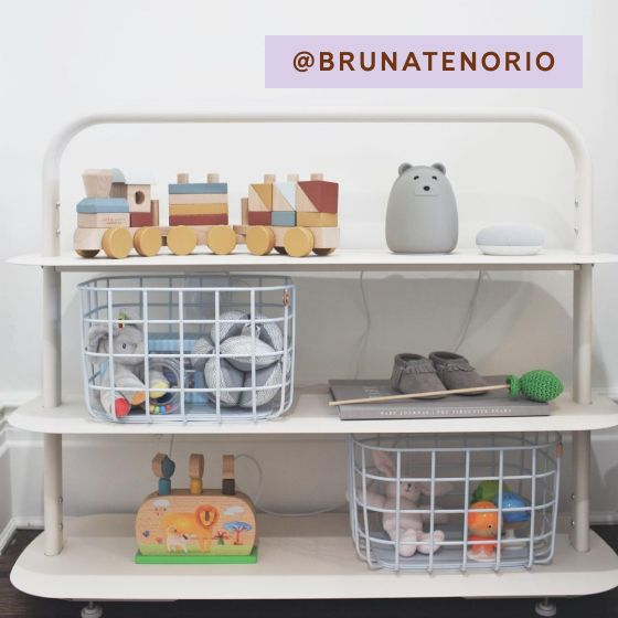 Image for [No Product Link] UGC - @brunatenorio - Entryway Rack - Cream