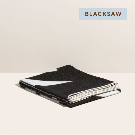 Image for Product Thumbnail - Reversible Throw - BlackIvory