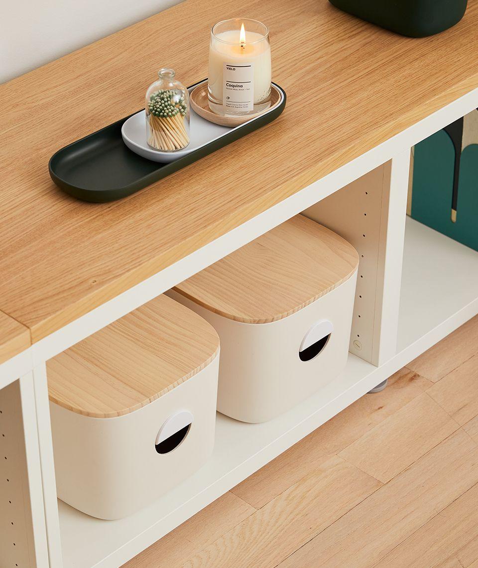 5050 Card - Cozy Living Room - Medium Bins - Desktop Image
