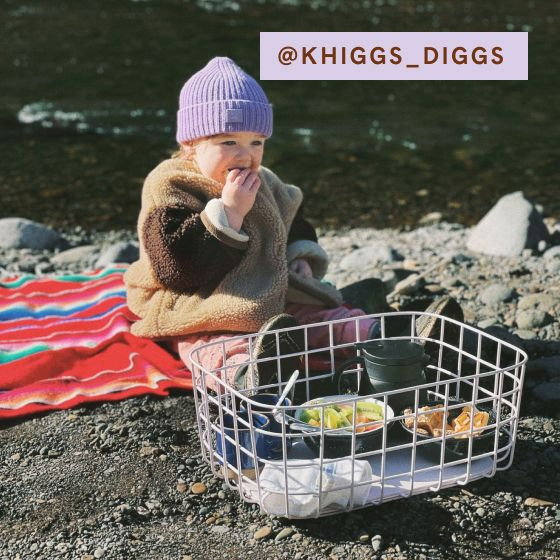 Image for UGC - @khiggs_diggs - Large Wire Baskets - Light Blue