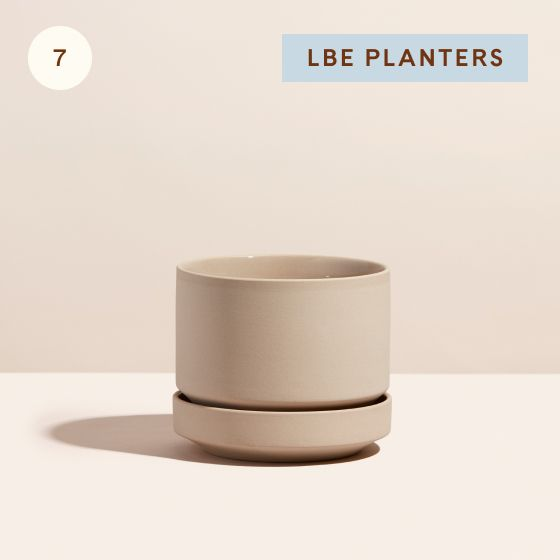 Image for Hotspot - Bedroom - 07 - LBE Planters 6 Inch Oatmeal