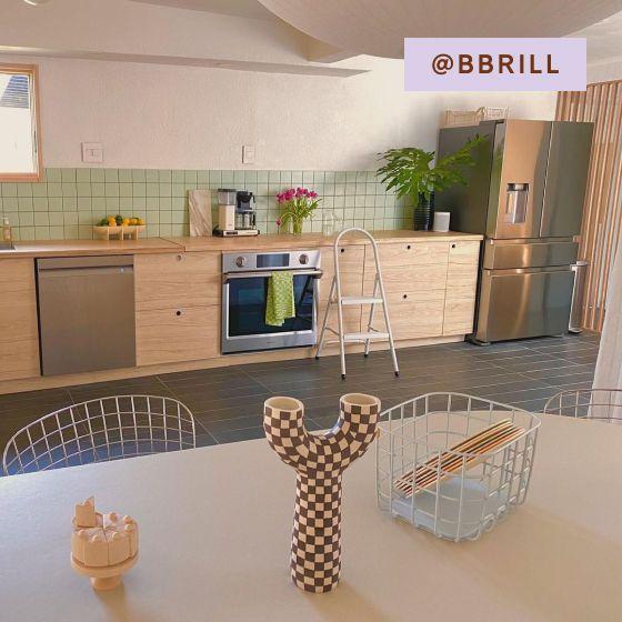 Image for UGC - @bbrill - Kitchen - Medium Wire Baskets - Light Blue