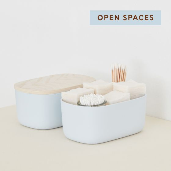 Image for Product Thumbnail - Small Storage Bins - Light Blue