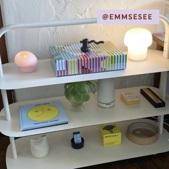 Image for [No Product Link] UGC - @emmsesee - Entryway Rack - Cream