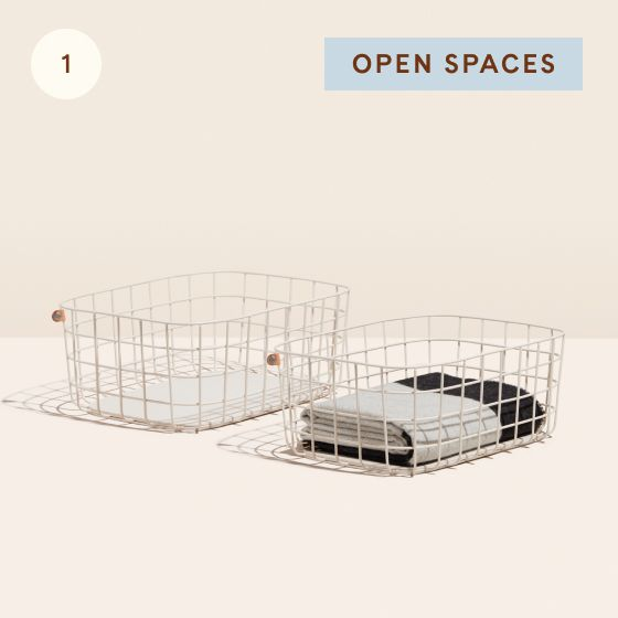 Image for Hotspot - Kitchen - 01 - Open Spaces Large Wire Baskets