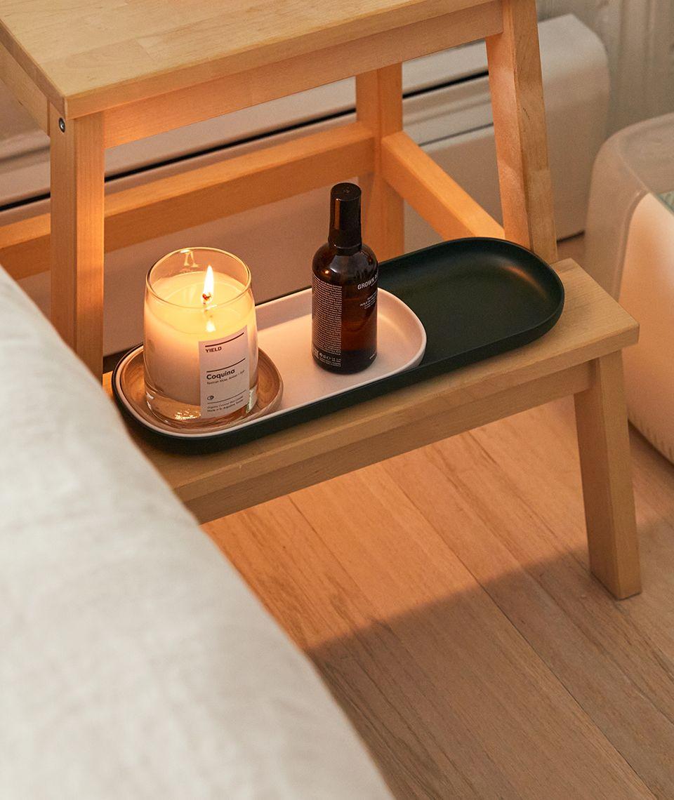 5050 Card - Calm Bedroom - Nesting Trays - Desktop Image