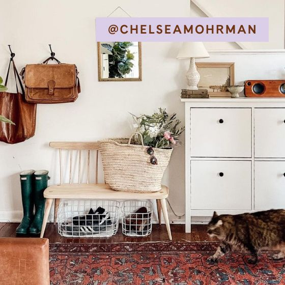 Image for UGC - @chelseamohrman - Wire Baskets - Cream
