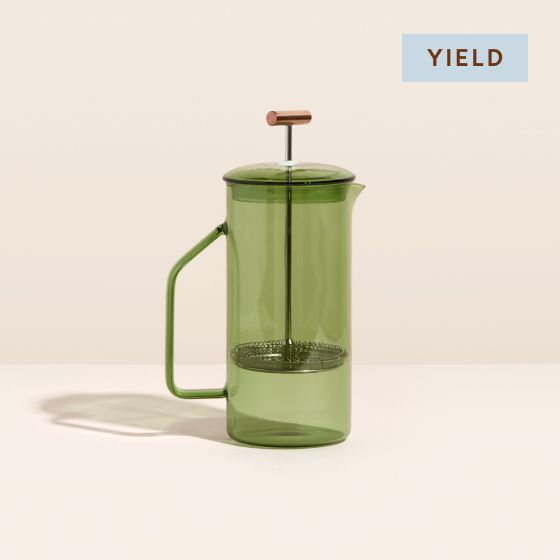 Image for Product Thumbnail - Glass French Press - Verde