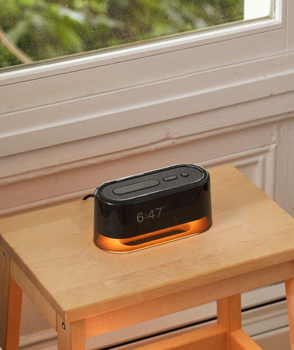 5050 Card - Calm Bedroom - Loftie Clock - Desktop Image