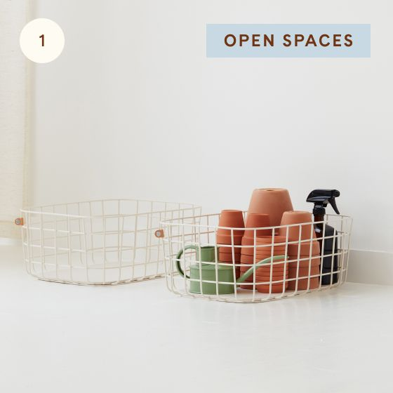 Image for [OOS product] Hotspot - Kitchen - 01 - Open Spaces Large Wire Baskets