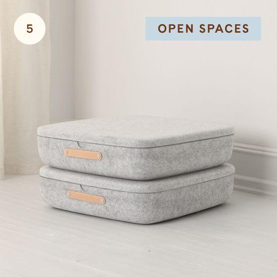 Image for Hotspot - Bedroom - 05 - Open Spaces Underbed Storage