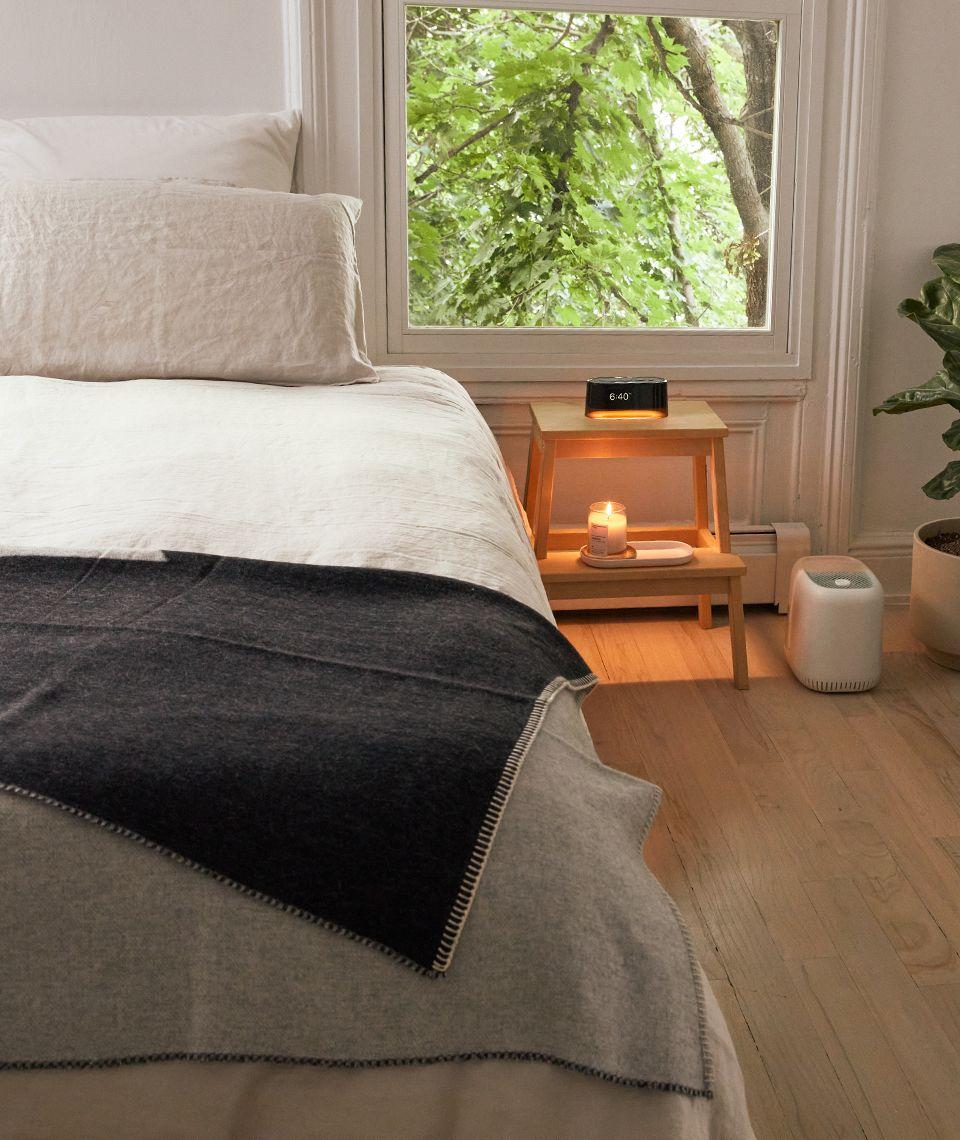 5050 Card - Calm Bedroom - Siempre Recycled Blanket - Desktop Image