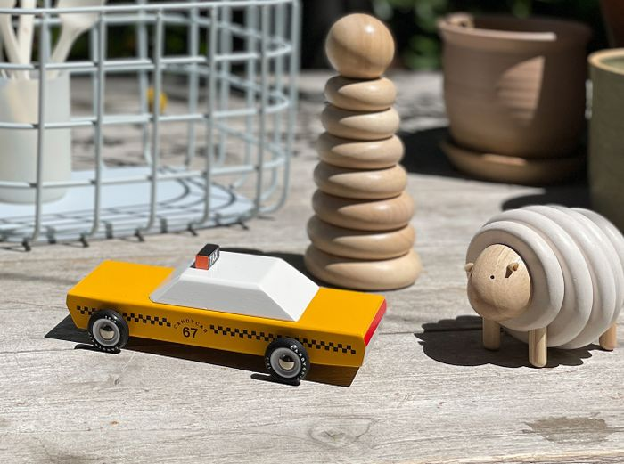 Hover Image for Wooden Taxi Cab - Default Title