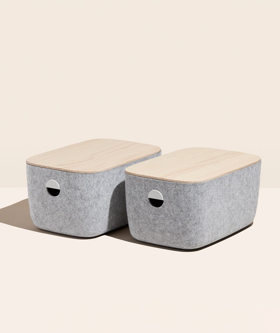 Hover image for Open Spaces Felt Bins Product Shot