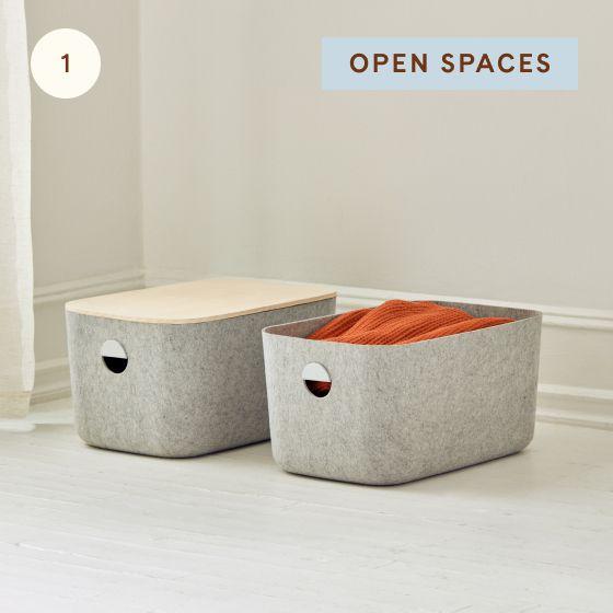 Image for Hotspot - Bedroom - 01 - Open Spaces Felt Bins