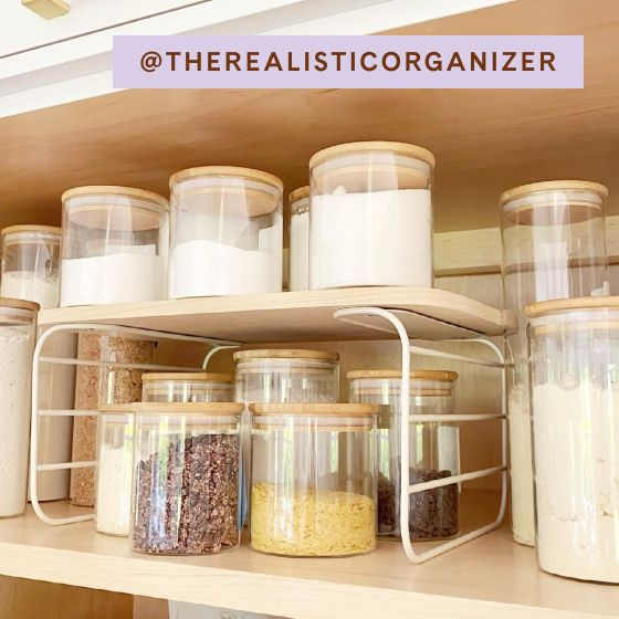 Image for UGC - @therealisticorganizer - Shelf Risers