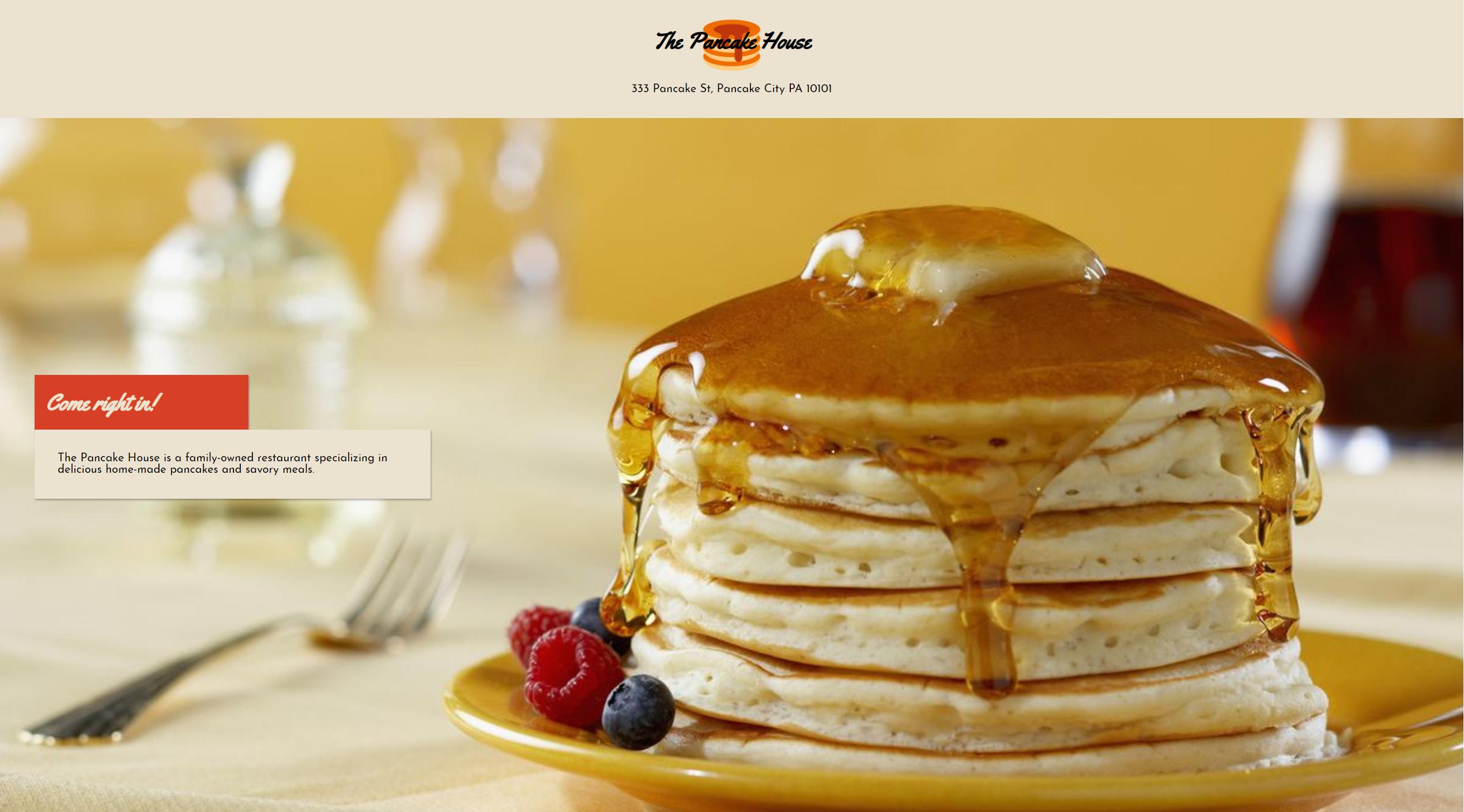 image of: Restaurant Website