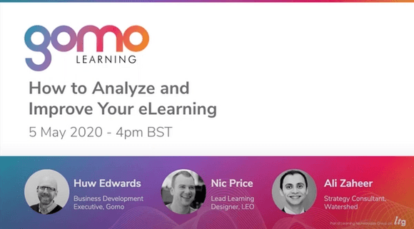 Webinar: How to Analyze and Improve Your eLearning Read more