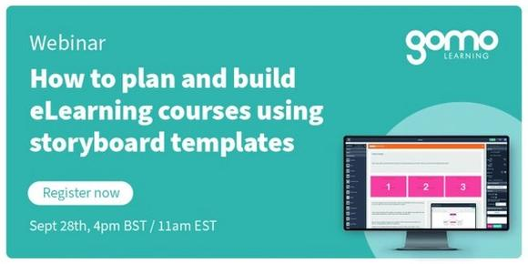 Webinar: How To Plan and Build eLearning Courses Using Storyboard Templates Read more