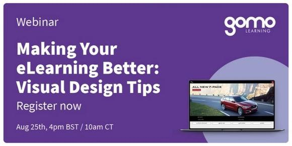 Webinar: Making Your eLearning Better: Visual Design Tips Read more