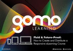 Fluid and future-proof: How to create and distribute a responsive eLearning course Read more