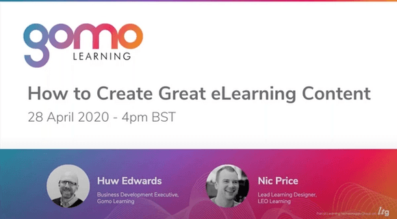 Webinar: How to Create Great eLearning Content Read more