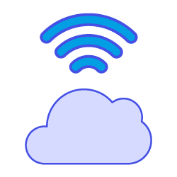 icon for secure cloud-based authoring