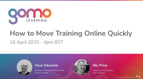 Webinar: How to Move Training Online Quickly Read more
