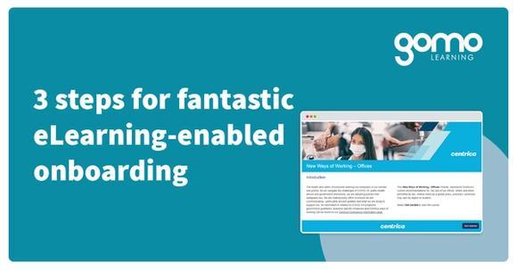 3 steps for fantastic eLearning-enabled onboarding Read more