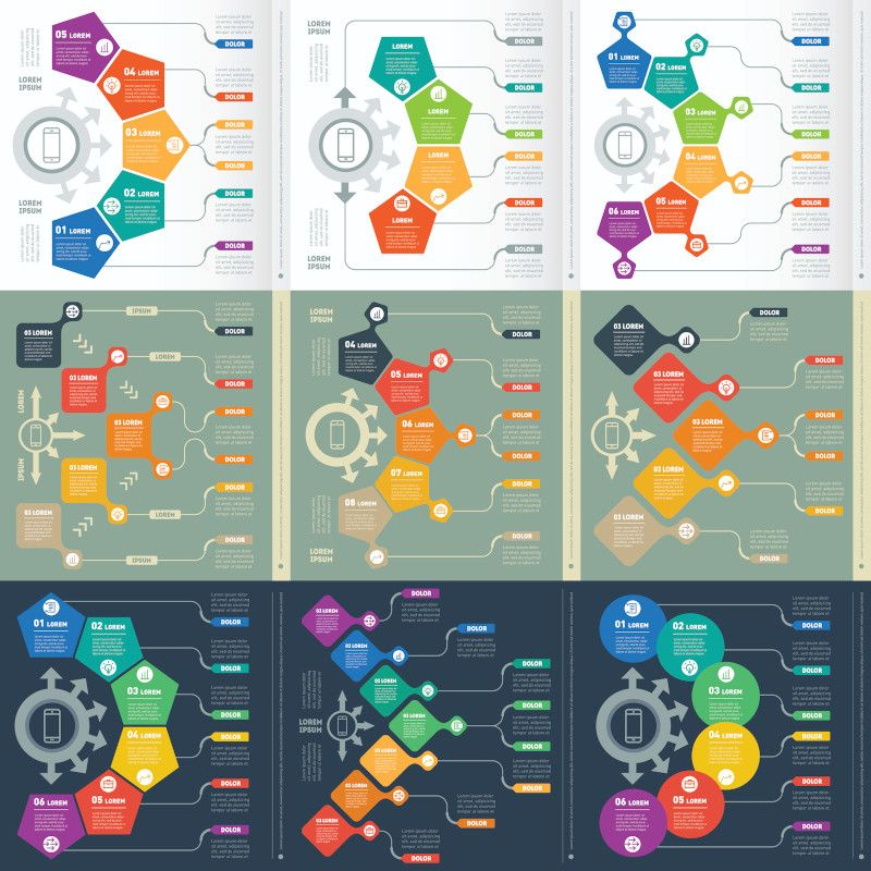 eLearning infographics should be fun, colorful and informative