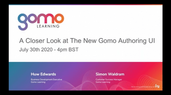 Webinar: A Closer Look at the New Gomo Authoring UI Read more