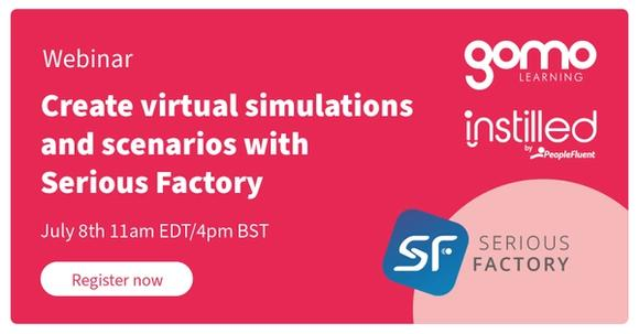Create virtual simulations and scenarios with Serious Factory Read more