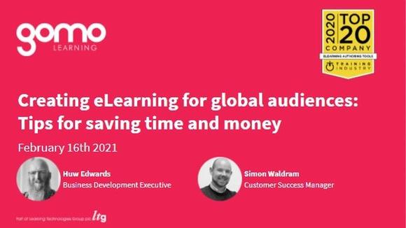 Webinar: Creating eLearning for global audiences: Tips for saving time and money Read more