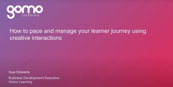 How to pace and manage your learner journey using creative interactions Read more